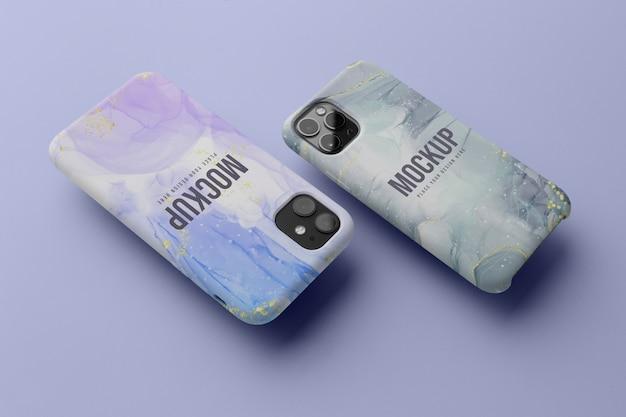 Układ makiet na telefony komórkowe