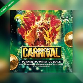 Ulotka carnival party