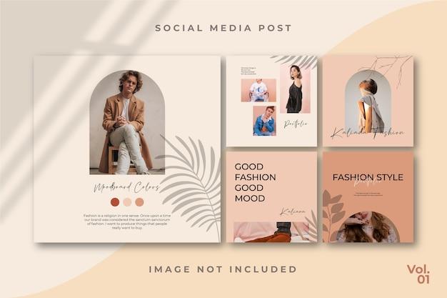 Ulotka square social media feed poster instagram