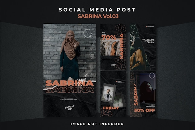 Ulotka square social media feed story poster instagram