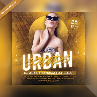 Ulotka urban party