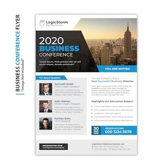 Ulotka z konferencji biznesowej