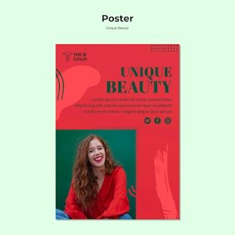Unikalny plakat kosmetyczny