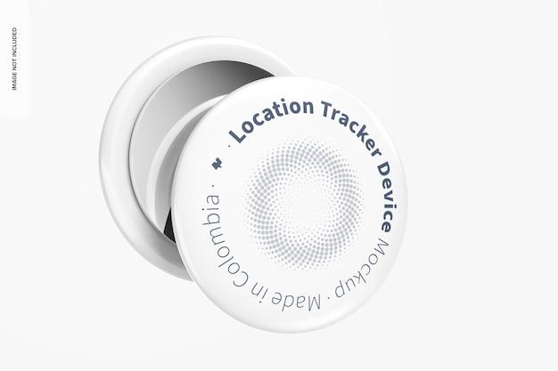 Urządzenie do śledzenia lokalizacji, widok z tyłu i z przodu