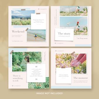Uwaga kolekcja banerów pocztowych