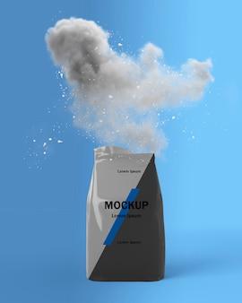 Uzupełnia makietę koncepcji splash