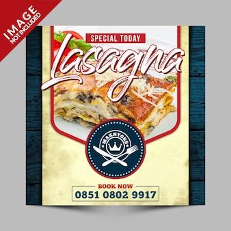 Vintage special today food menu promotion