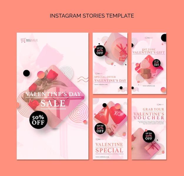 Walentynkowe historie na instagramie ze zdjęciem