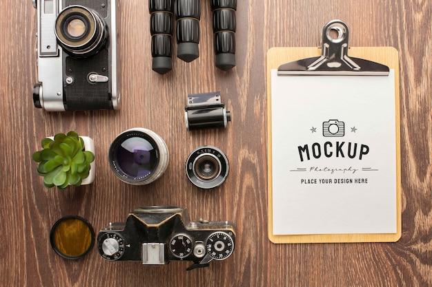 Warsztaty fotograficzne z makietą schowka