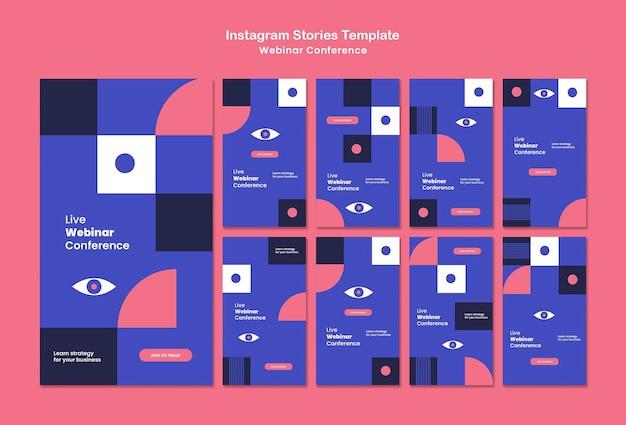 Webinar konferencja historie z mediów społecznościowych