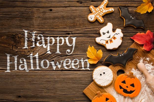 Wesołego halloweenowego cukierek albo psikus