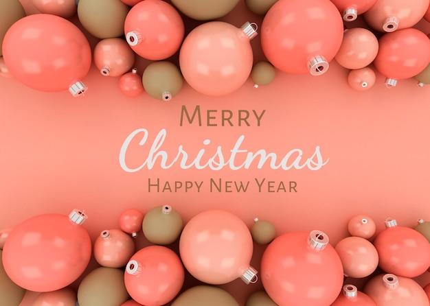Wesołych świąt bożego narodzenia tło szablonu