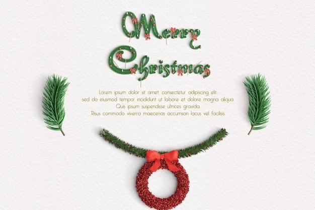 Wesołych świąt w tle