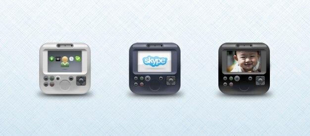 Wideotelefon asus ikona psd