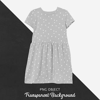 Widok z przodu makiety sukienki dla dzieci