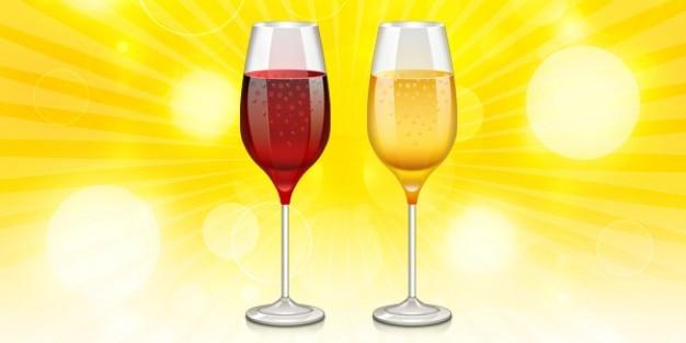 Wino szkło ikona psd