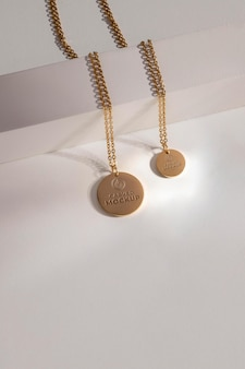 Wisiorek aranżacja makiety biżuterii