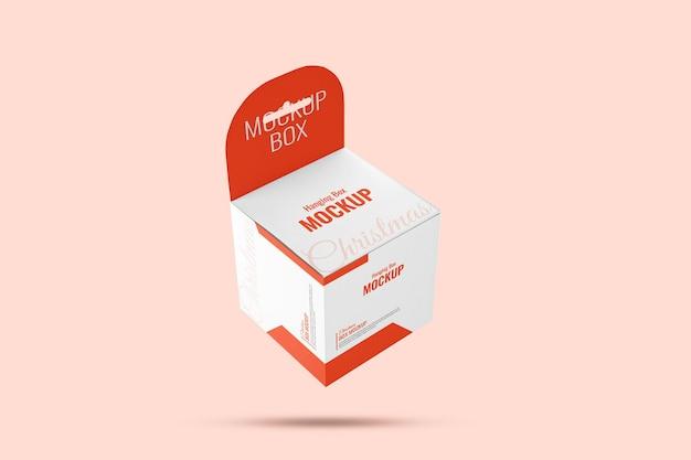 Wisząca makieta pudełka na produkty elektroniczne na boże narodzenie