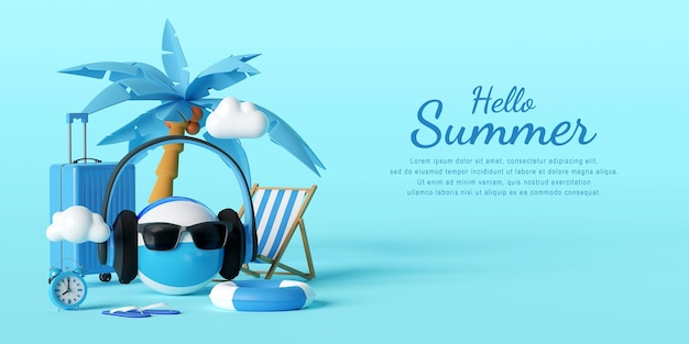 Witam lato szablon projektu