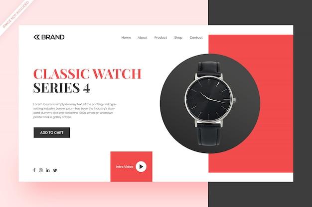 Witryna internetowa zakupy i koncepcja projektu strony docelowej