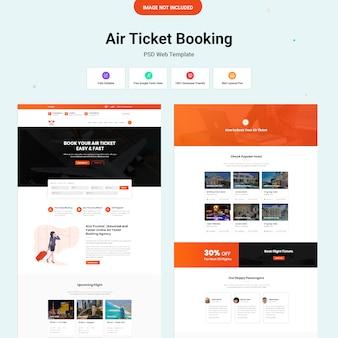 Witryna rezerwacji biletów lotniczych