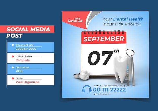 Wizyta lekarza z implantami dentystycznymi chirurgia concept instagra
