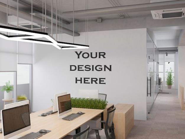 Wnętrze nowoczesne biuro