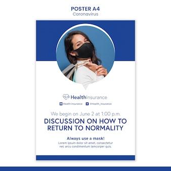 Wróć do szablonu plakatu normalności