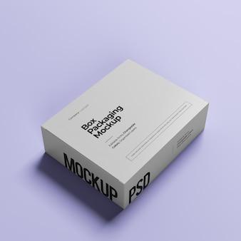 Wyczyść minimalistyczną makietę pudełka