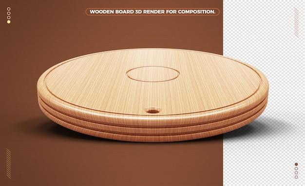 Wyczyść realistyczną drewnianą deskę do kompozycji