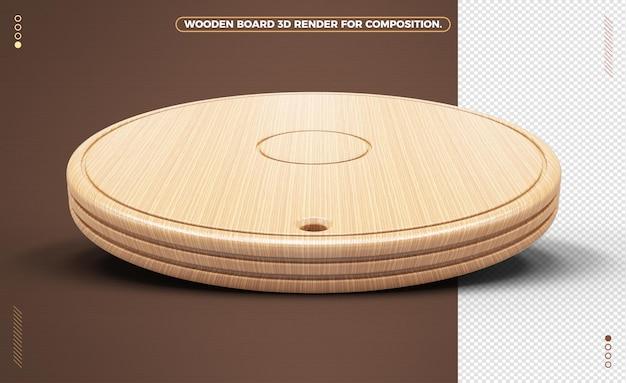 Wyczyść realistyczną drewnianą deskę