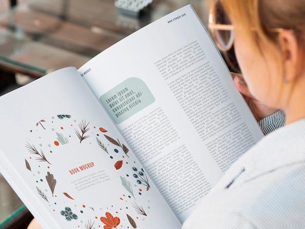 Wykład przyrodniczy z makiety czasopisma