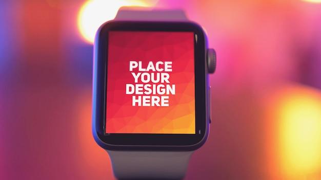 Wyświetlacz smartwatch