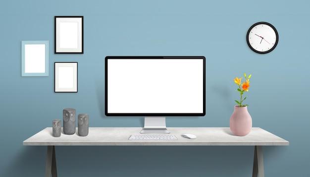 Wyświetlaj makiety w kreatorze sceny na biurku