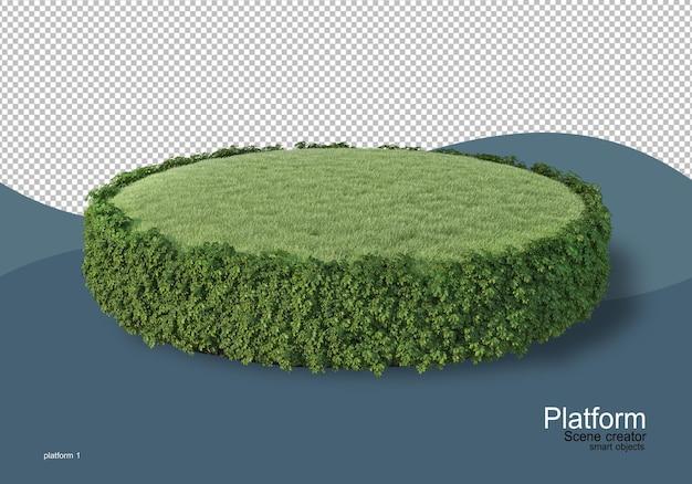 Wyświetlanie palet w renderowaniu 3d na białym tle