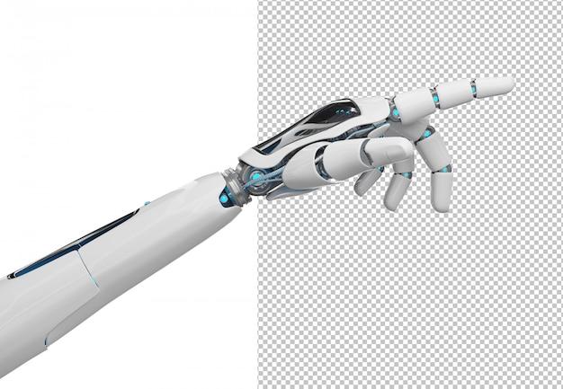 Wytnij palec robota