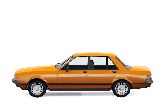 Zabytkowy samochód typu sedan 1982