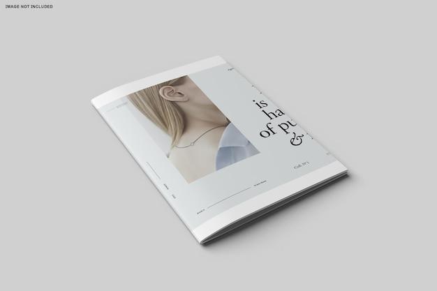 Zamknij się na bifold katalogu broszur