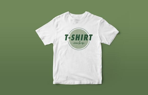 Zamknij się na makiecie logo pięknej koszuli