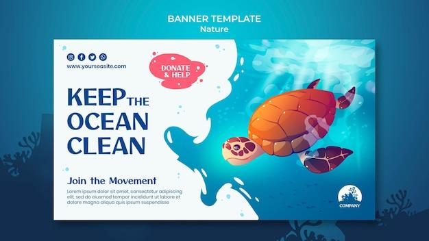 Zapisz szablon banera oceanów