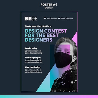 Zaprojektuj szablon plakatu