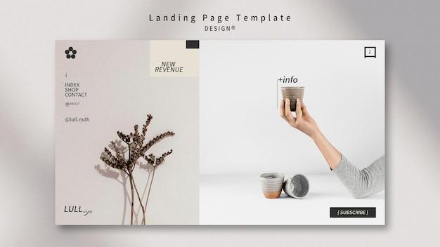 Zaprojektuj wewnętrzną stronę docelową
