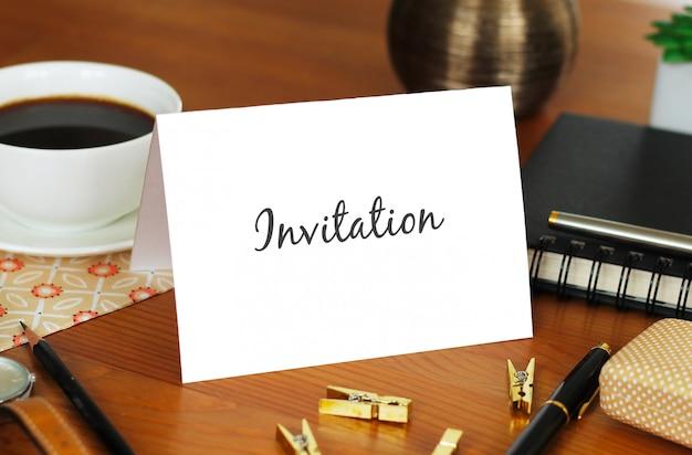 Zaproszenie mockup