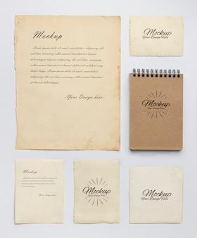 Zasoby kolekcji starych artykułów papierniczych