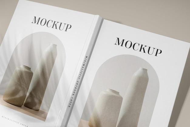 Zbliżenie Na Makieta Albumu Studyjnego Premium Psd