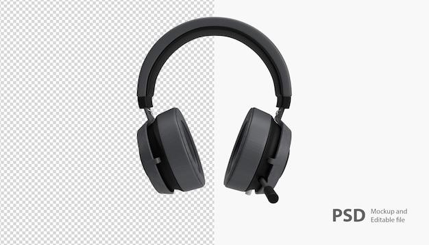 Zbliżenie na renderowanie słuchawek