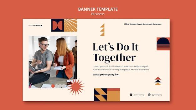 Zbuduj szablon banera firmy
