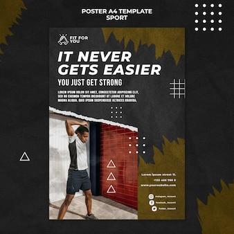 Zdobądź mocny szablon plakatu