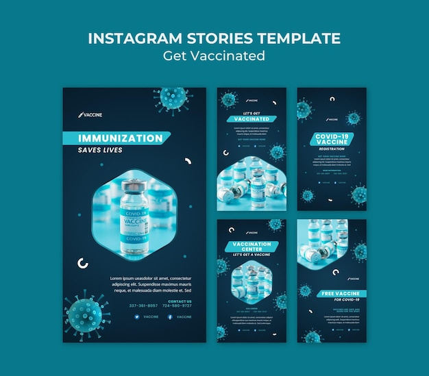 Zdobądź zaszczepione historie w mediach społecznościowych
