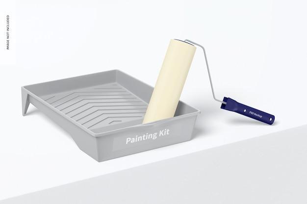 Zestaw do malowania makieta